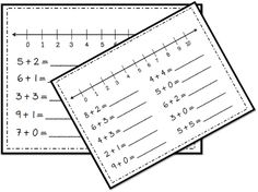 Number Line Goodness - and A Very Pinteresting FREEBIE! :)