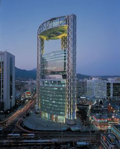 Samsung Jong-ro Tower in Seoul by Rafael Vinoly