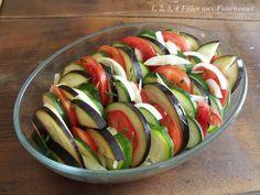 Tian de légumes - 1, 2, 3, 4 filles aux fourneaux Ratatouille, Healthy Lifestyle, Vegetables, Ethnic Recipes, Food, Lactose, 2013, Simple, Gluten Free Cooking