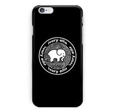 Ivory-Ella-Ellephant-Print-On-Hard-Plastic-Case-Cover-For-iPhone-6-6s-iPhone-7
