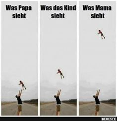 Was Papa sieht.. | Lustige Bilder, Sprüche, Witze, echt lustig