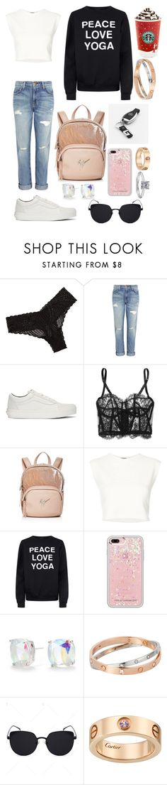 """""""✌🏻"""" by isabelalalbarelli ❤ liked on Polyvore featuring Cosabella, Current/Elliott, Vans, I.D. SARRIERI, Giuseppe Zanotti, Puma, Private Party, Rebecca Minkoff, Kate Spade and Rachel"""