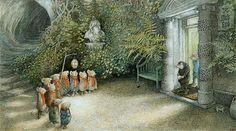 Image result for inga moore secret garden