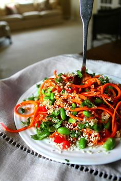 Asian Sesame Carrot Salad2