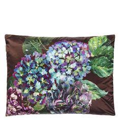 Indivara Violet Throw Pillow | Designers Guild