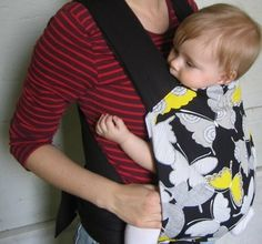 DIY Mei Tai baby carrier, a friend of mine suggested this .. just might consider this. They are not very cheap from the store!