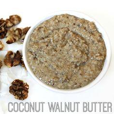 Homemade Coconut Walnut Butter