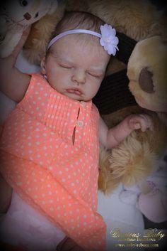 Prototype Reborn Baby Doll Anastasia Sculpted by Olga Auer Newborn Girl | eBay