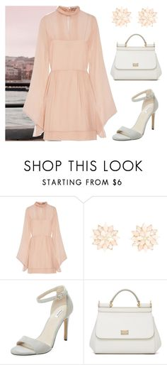 """Morning Mode"" by monique-joanne ❤ liked on Polyvore featuring Emilio Pucci, Charlotte Russe, Elorie and Dolce&Gabbana"
