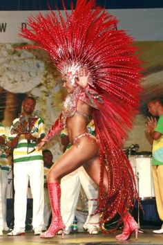 Rainha, Samba Carnaval, Rio se Janeiro