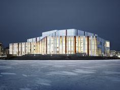 Spira Performing Arts Centre in jonkoping, Sweden by Wingardh Arkitektkontor