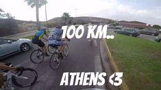 100Km Βόλτα με ποδήλατο Αθήνα. Πεύκη-Αγ.Μαρίνα. Ideal OnRoad 2016.