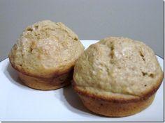 Healthier Basic Banana Muffins