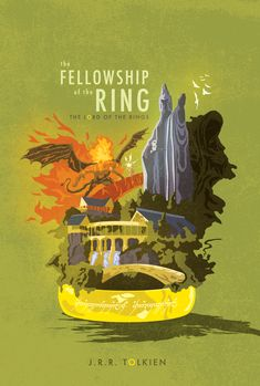 Cool Lord of the Rings: the Fellowship of the Rings art.