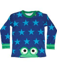 T-shirt bébé avec drôle de grenouille par Fred's world