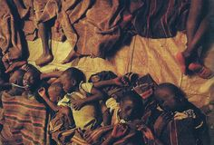 Children of Kitgum in Northern Uganda, seek safe places to sleep in towns to avoid being kidnapped by the Lord's Resistance Army. In the morning they return to their homes.