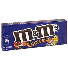 M&M's Caramel Chocolate Candies, 3 oz. Chocolate Candy Brands, I Love Chocolate, Chocolate Bunny, Chocolate Flavors, Chocolate Candies, Chocolate Bars, Candy Store Display, Candy Bar Covers, Ariel Cake