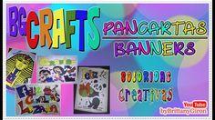BGCRAFTS ► #Pancartas / #Banners #Cartel ◄ PROMO I #PancartaColorida #CartelCreativo #DIY