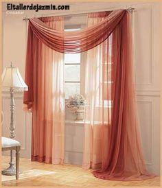 Resultado de imagen para cortinas para living