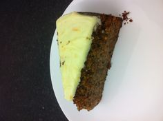 Carrot & almond cake from whitecross st market #munched
