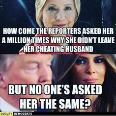 """323 Likes, 15 Comments - Liberal Memes & Random Stuff (@deez_the_liberal) on Instagram: """"My theory is that reporters would like to ask her this question but none of the 57 languages she…"""""""