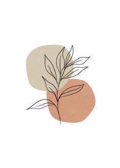 Minimalist Wallpaper, Minimalist Art, Plant Drawing, Nature Drawing, Art Nature, Outline Art, Leaf Illustration, Abstract Line Art, Plant Art