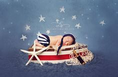 Newborn Shorts and Hat, Nautical Knit Newborn Short Pants and Bonnet Hat, Great Photography Prop