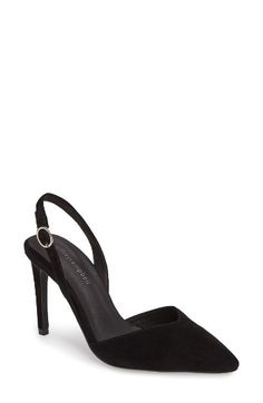 Free shipping and returns on Jeffrey Campbell Delmonica Slingback Pump (Women) at Nordstrom.com. A sharp pointy toe joins a low-cut vamp and slender slingback strap, bringing a provocative yet refined feel to this striking d'Orsay pump.