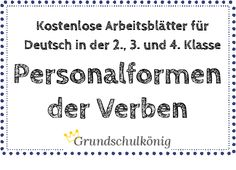 60 besten Deutsch | Grundschule Bilder auf Pinterest in 2018