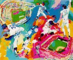"""""""Dodgers Centennial"""" by LeRoy Neiman"""