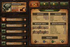 Dungeon Hunter Character Sheet