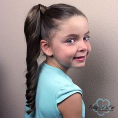DUTCH BRAID SIDE PONYTAIL