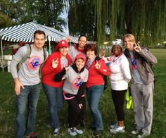 Alumni in DC help with BOO! Run for Life benefiting cell cancer research.