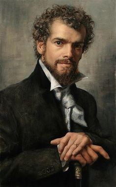 César Santos: self-portrait