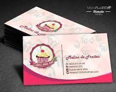 Resultado de imagen para tarjetas de presentacion para reposteria