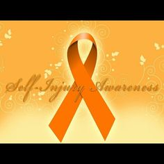 You are not alone. Not mad or crazy. You are not weak or stupid. Much love and support for anyone who is feeling low today. Just remember, you are not alone. #notalone #siad #awareness #orange #ribbon