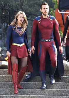 Melissa Benoist films Supergirl scenes with boyfriend Chris Wood Supergirl Superman, Supergirl Season, Supergirl And Flash, Melissa Benoist, After Earth, Melissa Supergirl, Kara Danvers Supergirl, Cw Dc, Dc Tv Shows