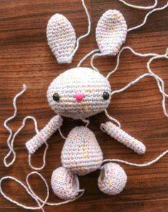 Little bunny - parts