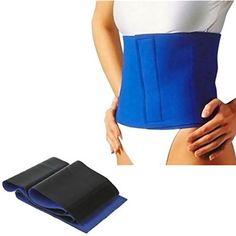 bf45feb124 Blue Exercise Weight Loss Belt Men  HipWaistSupports Shape Wear