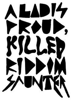 Riddim Saunter
