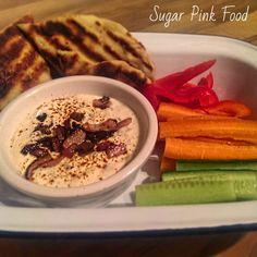 Sugar Pink Food: Slimming World Reicipe:- Gooey & Cheesy Warm Bacon Dip with Garlic Flatbreds