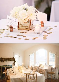 Gorgeous Gold & White New Years Eve Party