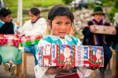 Shoe box gifts bring joy, celebration to an indigenous village in Ecuador