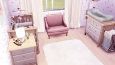 Toddler's Room The Sims 4