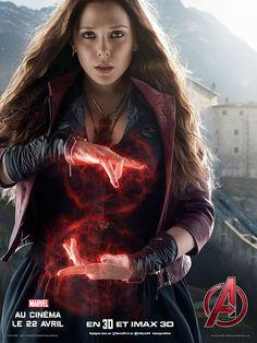 Avengers 2 L'ère d'Ultron : Quicksilver et Scarlet Witch s'affichent avec les Avengers !