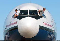Russian pilots still navigate by sight! Ilyushin Il-96-400T