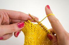 show rows knitting tutorial