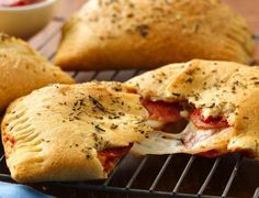 Enjoy these cheesy pepperoni hand pies made using Pillsbury® Big & Flaky dinner rolls – a delicious dinner that's ready in 25 minutes.