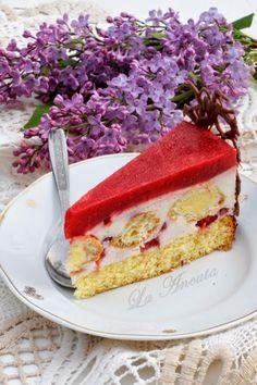 Romanian Desserts, Romanian Food, Mousse, Sweet Tarts, Something Sweet, Cake Cookies, No Bake Cake, Vanilla Cake, Cheesecake