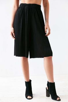 Cool shorts alternatives | Pleated Culotte Pant
